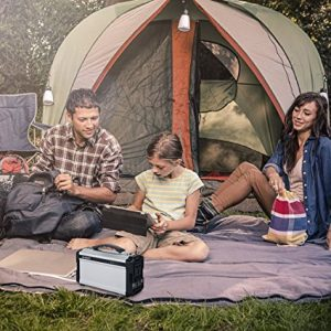 Portable Rechargeable Power Supply - Perfect for Camping